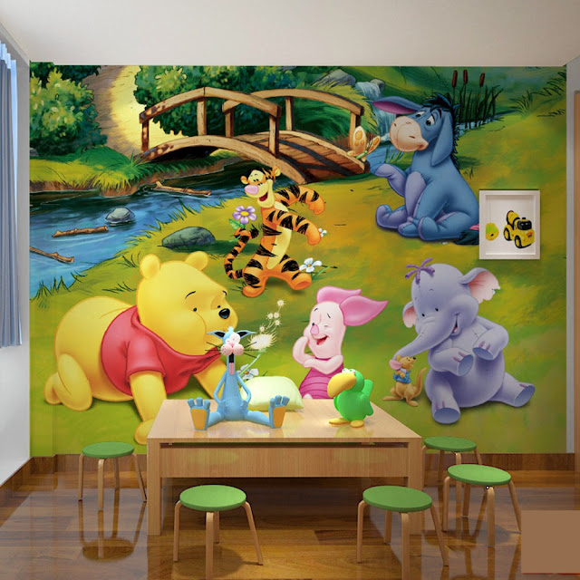 Wall Murals for Kids Room Winnie The Pooh