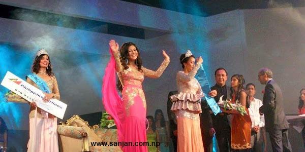 Miss Nepal 2015 Winner is Evana Manadhar From Kathmandu