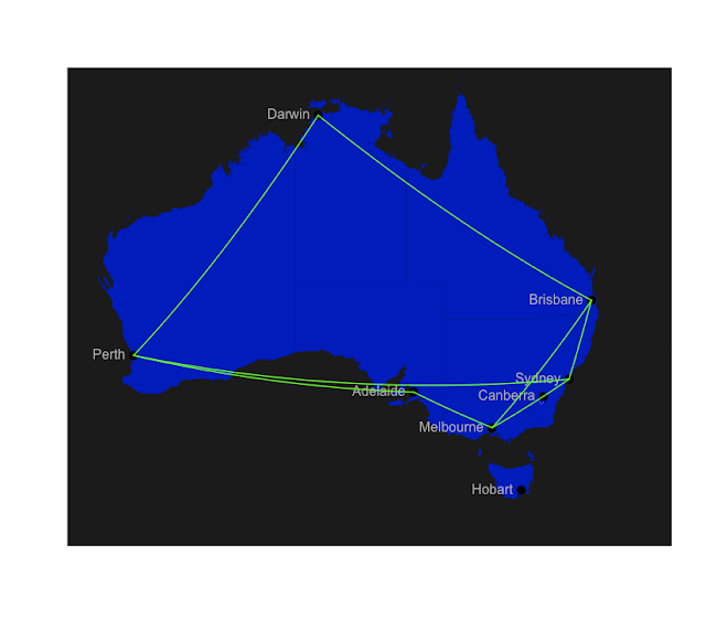 Australia Map In R.The Undiscovered Country A Tutorial On Plotting Maps In R R Bloggers