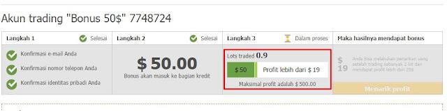 Trading Forex Bonus Saldo $50 dari FBS Mau