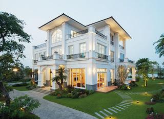 kiến trúc tuyệt vời của Sunshine Golf Land Villas