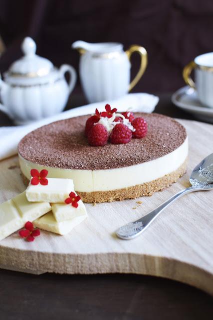 Cheesecake de Chocolate Blanco (Sin Horno)