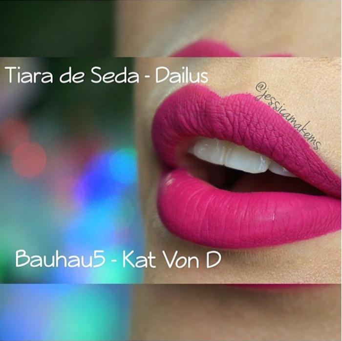 Dupe do batom Bahaus da Kat Von D