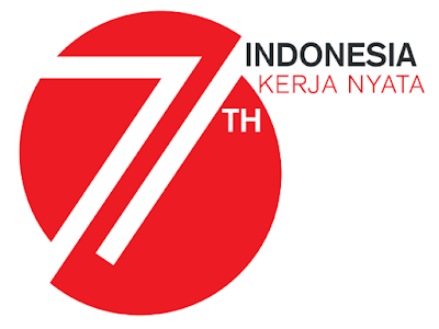 Desain Logo Resmi HUT RI Ke-71 Tahun 2016