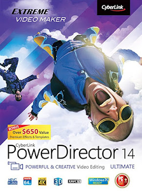 PowerDirector 14 Ultimate giveaway wantnewsoft.blogspot.com