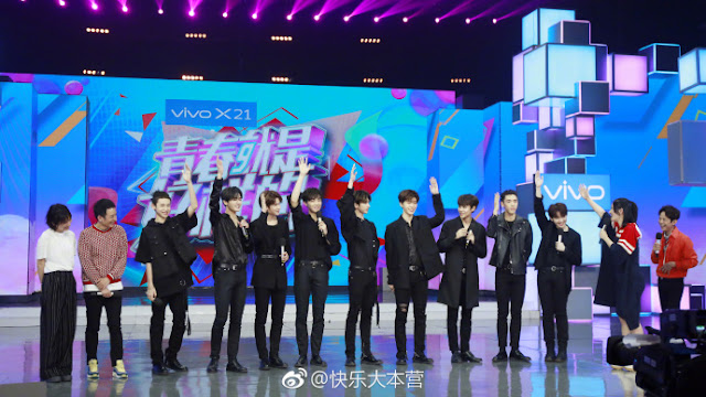Nine Percent appear on Happy Camp