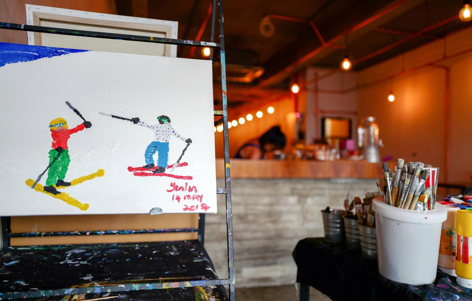 cafe atas59 @ bangkung, bangsar