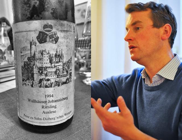 Felix Prinz zu Salm-Salm, Winzer und Betriebsleiter des Weingutes Prinz Salm