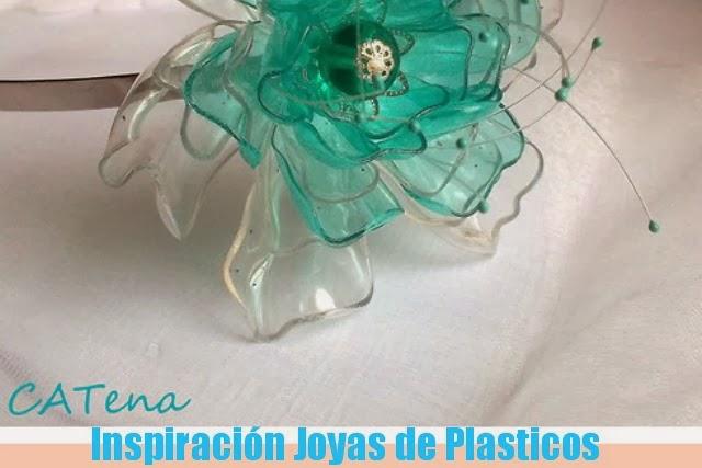 bisuteria, botellas plastico, reciclar, manualidades