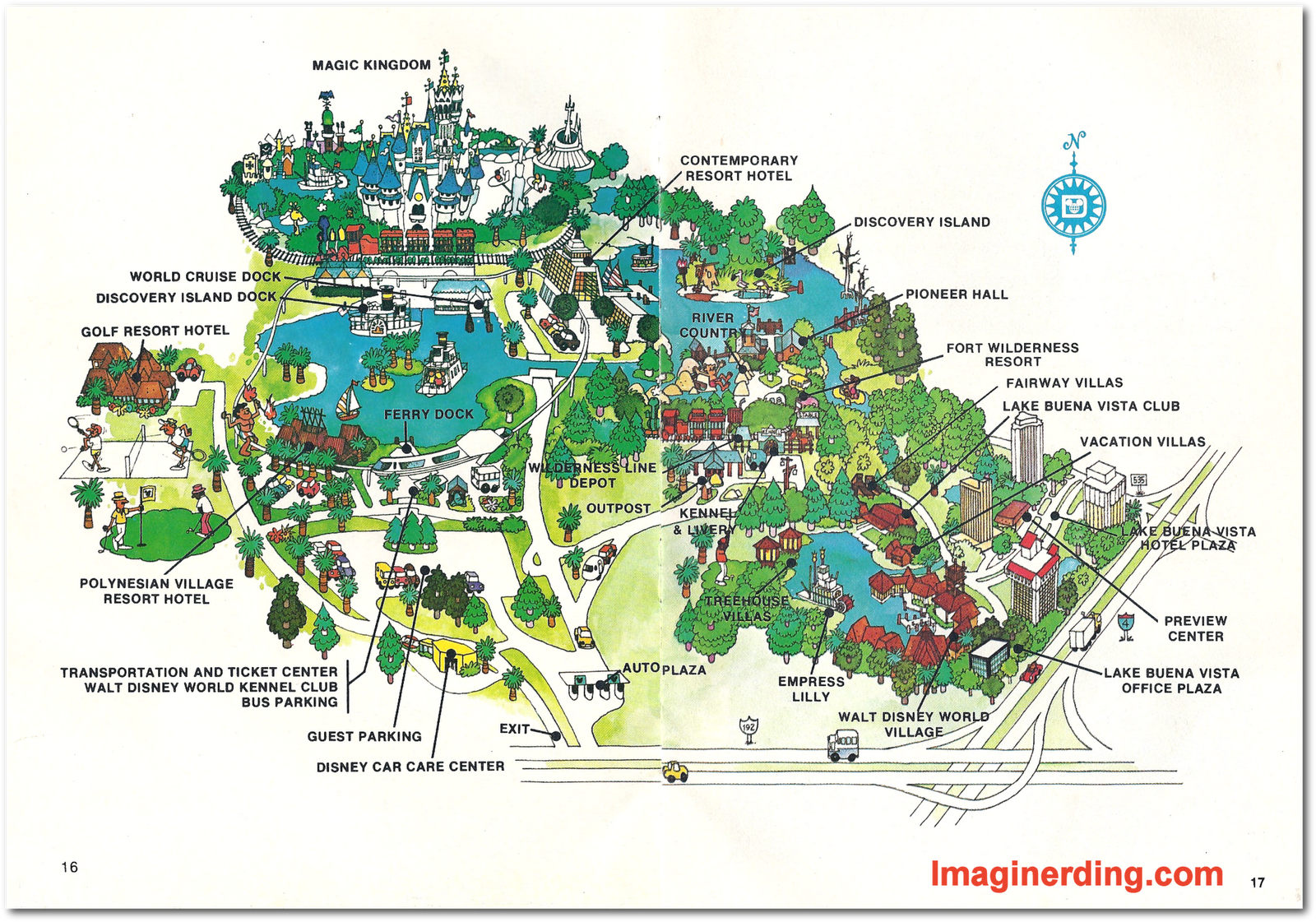 Your guide to walt disney world 1978 celebrating 40 years of walt click for larger version gumiabroncs Image collections