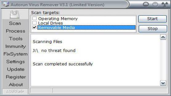 Autorun Virus Remover screenshot 2