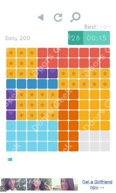 Cheats, Walkthrough for Blocks and Shapes Level 200