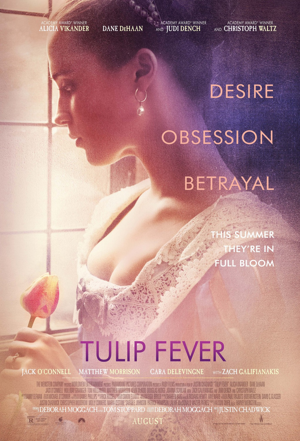 tulip fever trailers clips featurette images and posters the entertainment factor. Black Bedroom Furniture Sets. Home Design Ideas