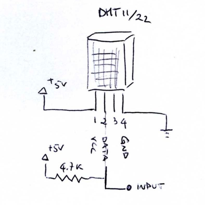 Davide Gironi: Reading Temperature and Humidity on AVR