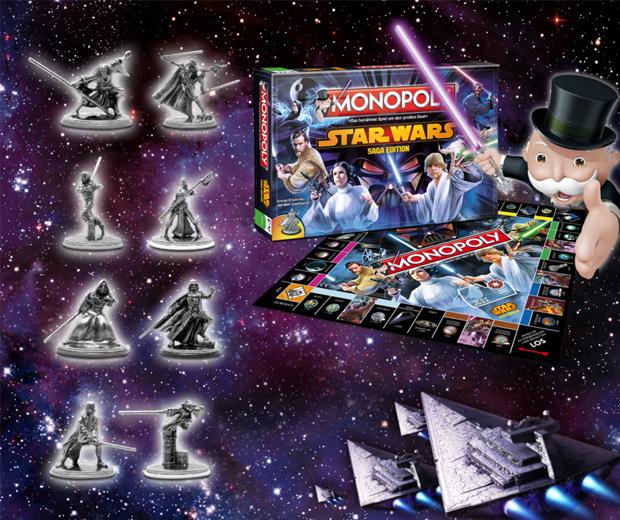 Monopoly Star Wars Saga Edition