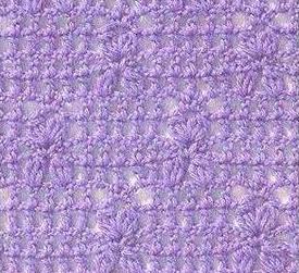 Patrón 900 Punto Calado a Crochet