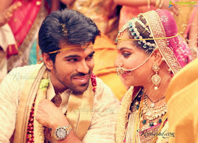 Ram Charan Teja wedding