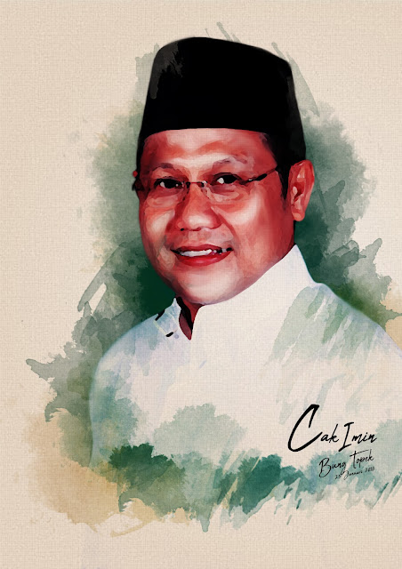 Digital Painting Cak Imin