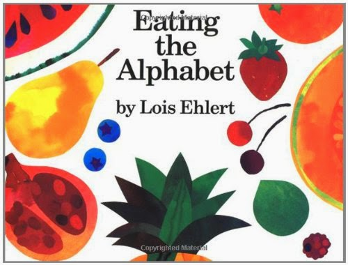 Eating the Alphabet, part of children's book review list about fruit