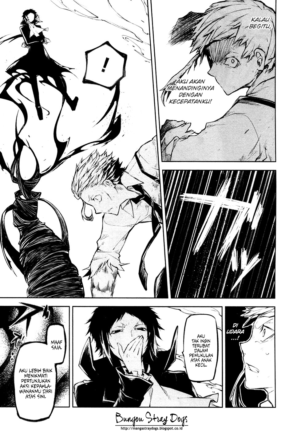 Bungou Stray Dogs Chapter 12-14