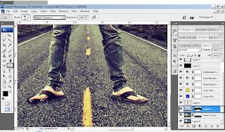 Cara Membuat Foto Fantasi dengan Photoshop