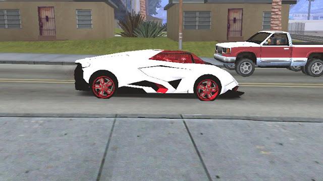 Lamborghini Egoista Concept Car Mod [DFF ONLY] side look gtaam