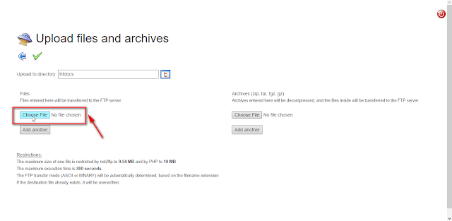 Cara mudah upload file ke Byethost