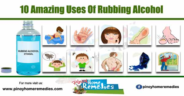 10 Amazing Uses Of Rubbing Alcohol