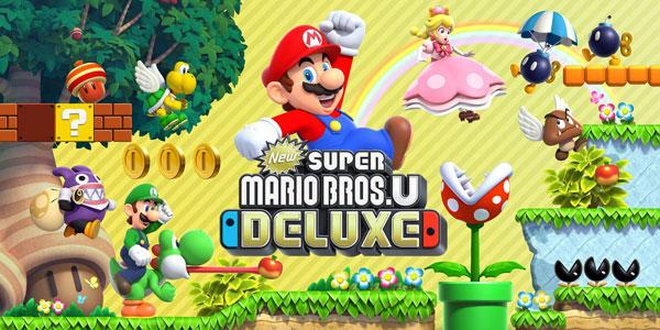 New Super Mario U Deluxe Works