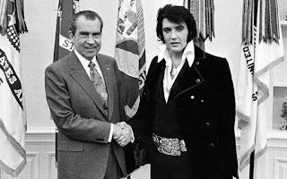 President Richard Nixon Elvis Nixon famous photograph