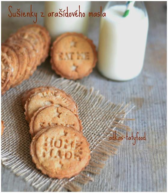 Chrumkavé sušienky  s arašídovým maslom