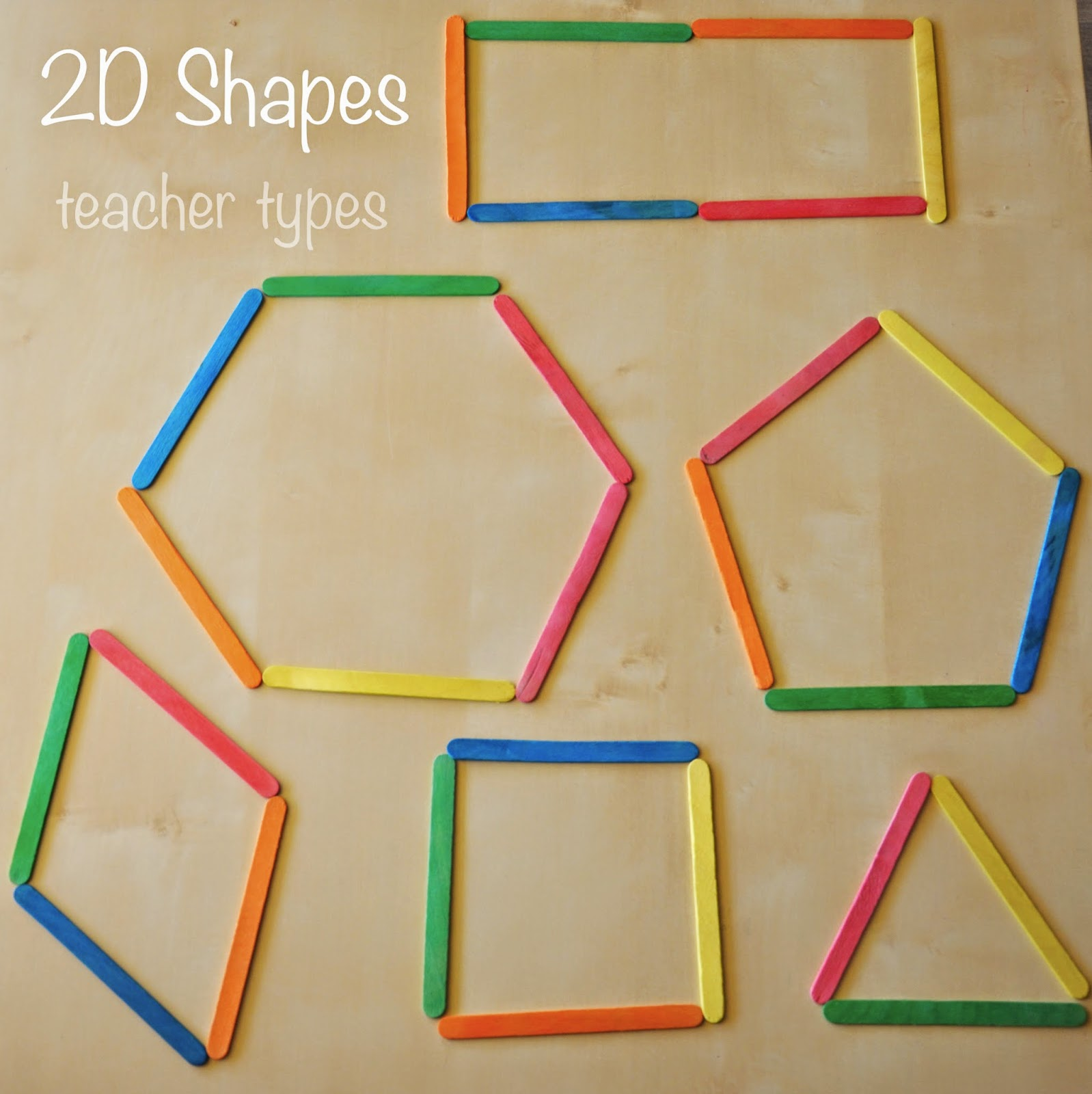 Learning About 2d Shapes Magical Maths