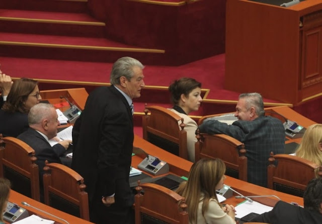 Former Albanian Prime, Sali Berisha: We will grab the weapons and destroy the Socialists if...