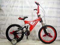 Sepeda BMX Pacific Fastron 2.0 Suspensi 18 Inci