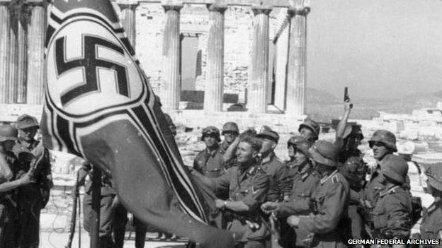 The nazi occupation of Greece, 1941-44: An endless list of crimes
