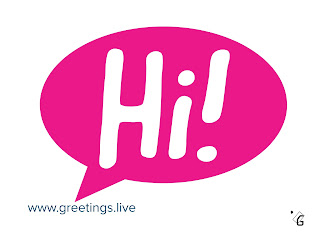 Start chatting with Hi!  Greetings live Images HD free