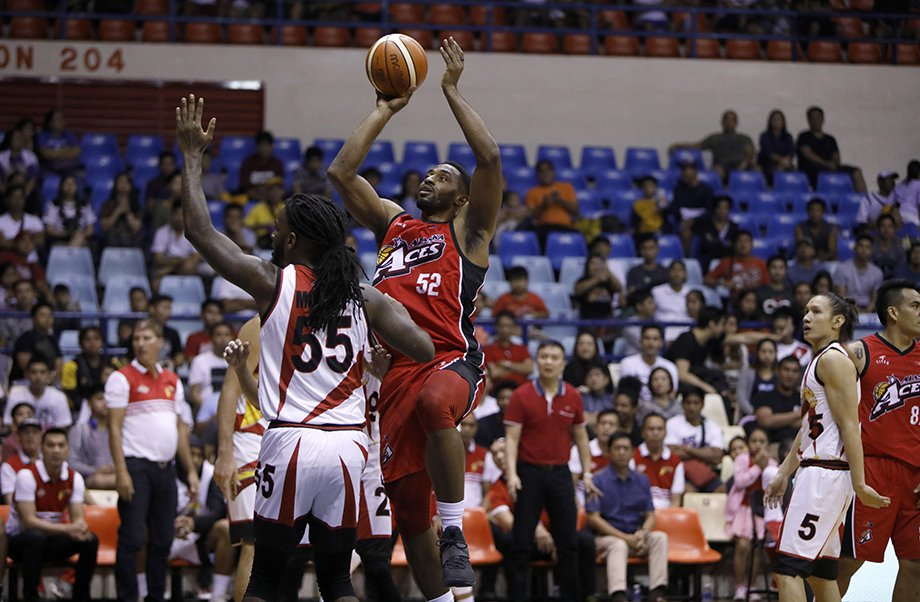 Mike Harris' game-high 25 points helped Alaska claimed the third semis spot