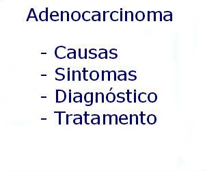Adenocarcinoma causas sintomas diagnóstico tratamento prevenção riscos complicações