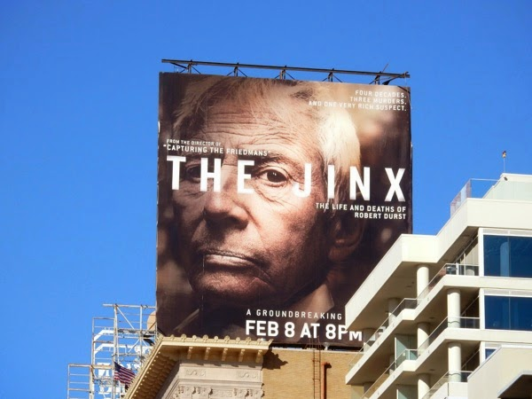 The Jinx series premiere billboard