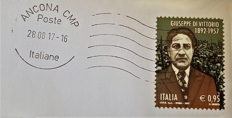 francobollo Giuseppe Di Vittorio