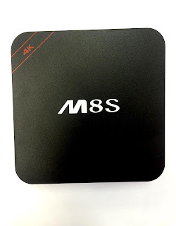 TV BOX ANDROID 7.1 QUAD CORE M8S 4K