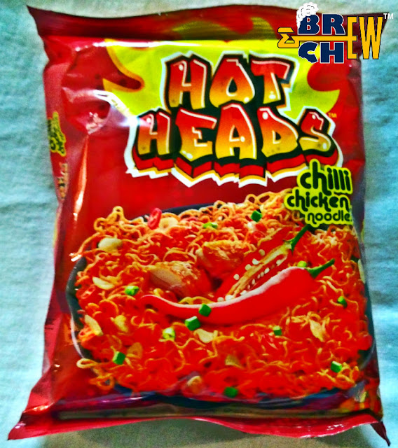 Maggi Hot Heads review | Chilli Chicken Noodles