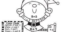 First Grade Friendly Froggies: Math Coloring Sheets
