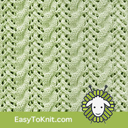 EasyToKnit - Cable and Lace Combinations
