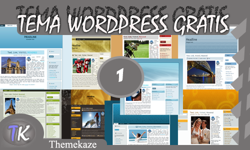 Gratis 10 Tema Wordpress part 1 - ThemeKaze