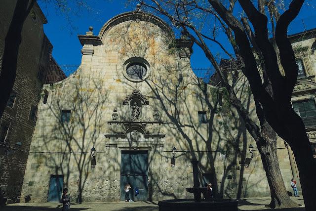 サン・フェリペ・ネリ広場(Plaça de Sant Felip Ner)