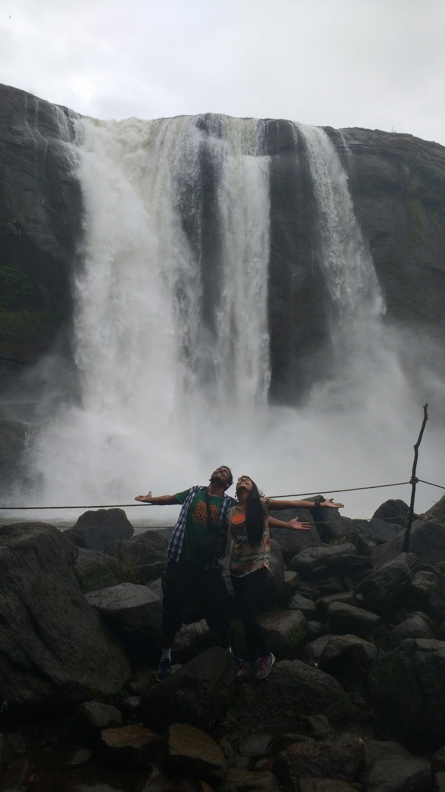 Athirapalley waterfall