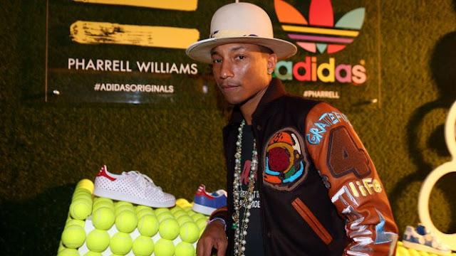 Pharrell gana la partida a West en adidas