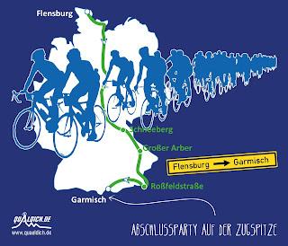 Von Flensburg nach Garmisch mit Ketterechts - dem Rennradblog