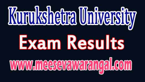 Kurukshetra University LLM Previous May-2016 Exam Results
